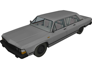 GAZ-14 Chaika (1977) 3D Model