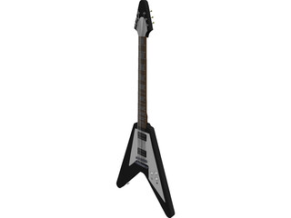 Gibson Classic Flying V 3D Model 3D Preview