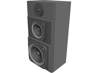Speaker 3D Model 3D Preview