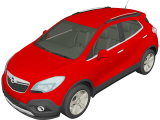 Opel Mokka (2013) 3D Model