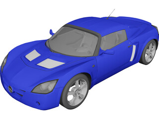Opel Speedster (2004) 3D Model
