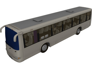 Bus China 3D Model