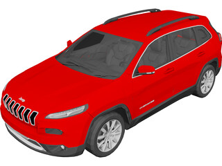 Jeep Cherokee (2015) 3D Model 3D Preview