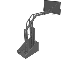 Basketball Stand 3D Model