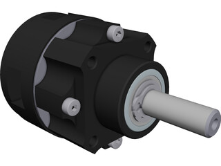 Planetary Gearbox NEU P32 1:6.75 CAD 3D Model