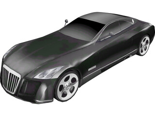Maybach Exelero Coupe 3D Model