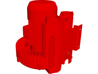 Vacuum Pump CAD 3D Model