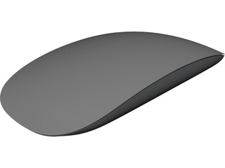 F19 Apple Magic Mouse 3D Model