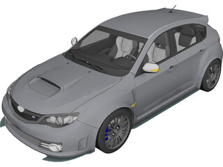 Subaru Impreza WRX Cosworth Edition 3D Model
