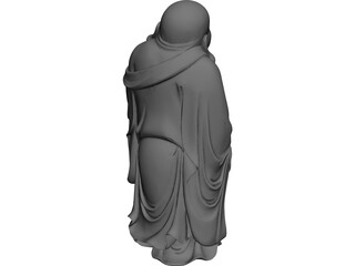 Buddha Statue 3D Model 3D Preview