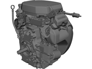 Honda GX690 Engine CAD 3D Model