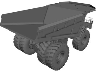 Caterpillar 797 3D Model 3D Preview