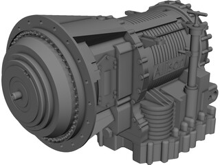 Allison Transmission 3200 CAD 3D Model