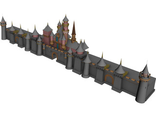 Disney World 3D Model