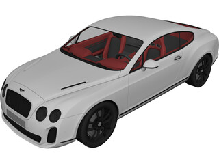Bentley Continental Supersport 3D Model