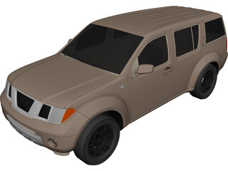 Nissan Pathfinder (2010) 3D Model