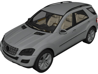 Mercedes-Benz ML500 3D Model