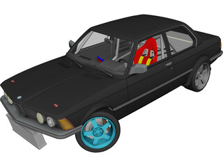 BMW E21 Drift Edition 3D Model