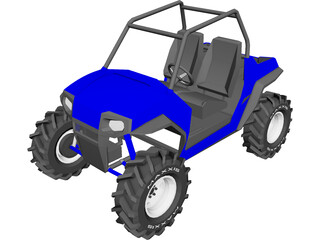 Polaris RZR800 3D Model