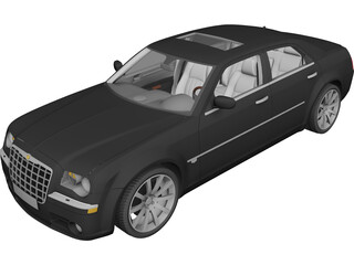 Chrysler 300C SRT8 (2005) 3D Model