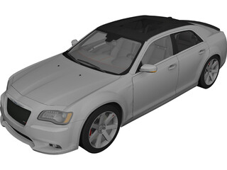 Chrysler 300C SRT8 (2012) 3D Model