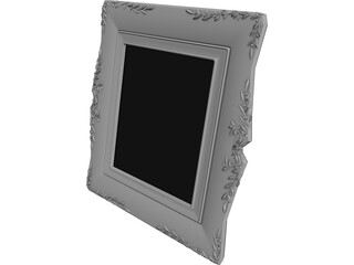 Classic Photo Frame 3D Model