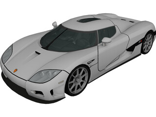 Koenigsegg CCX 3D Model