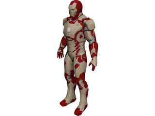 Iron Man Mark 42 3D Model