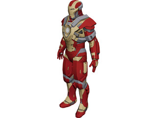 Iron Man Heartbreaker 3D Model
