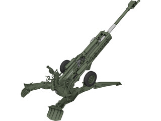 M777 Howitzer  3D Model