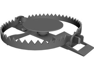 Steel Trap 3D Model 3D Preview