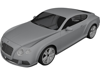 Bentley Continental GT (2012) 3D Model
