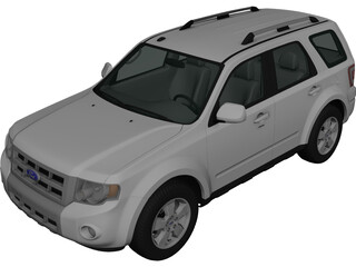 Ford Escape (2012) 3D Model
