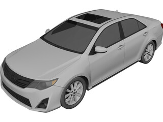Toyota Camry (2012) 3D Model