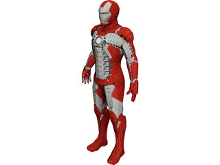 Iron Man Mark 5 3D Model
