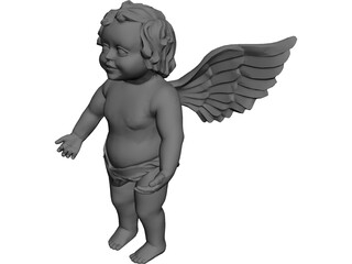 Figurine Angel 3D Model
