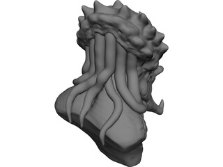 Predator Head 3D Model