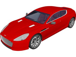 Aston Martin Rapide S (2013) 3D Model 3D Preview