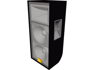JBL Twin Speaker 3D Model