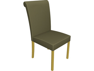 Dining Chair CAD 3D Model