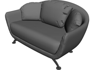 Sofa Alabama 3D Model