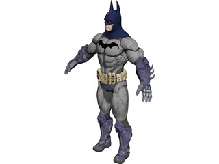 Batman Armoured 3D Model