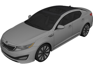 Kia Optima SX GDI 3D Model