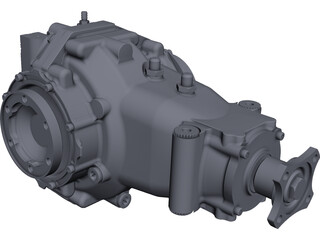 Sadev Axle CAD 3D Model