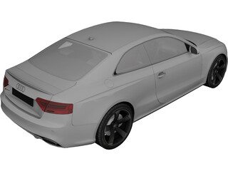 Audi RS5 Coupe (2012) 3D Model