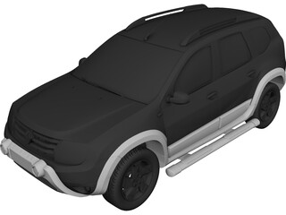 Renault (Dacia) Duster D-Cross 3D Model