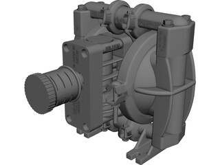 Wilden Pump CAD 3D Model