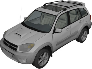 Toyota RAV4 5-door (2004) 3D Model