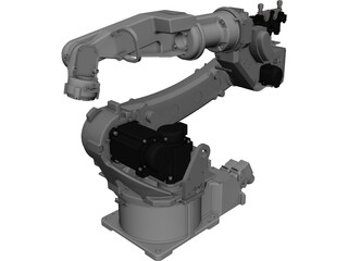 Panasonic Welding Robot TM 1800 CAD 3D Model