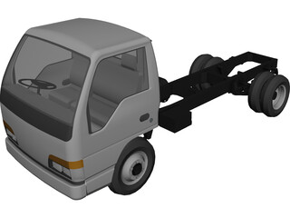 Isuzu NKR 3D Model